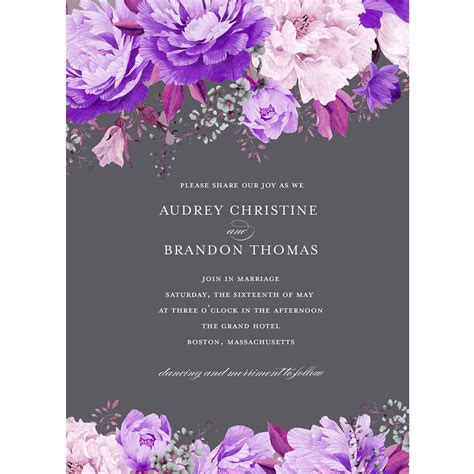 Wedding Invitations Greeting Cards by Cards Stationery Invitations Walmart
