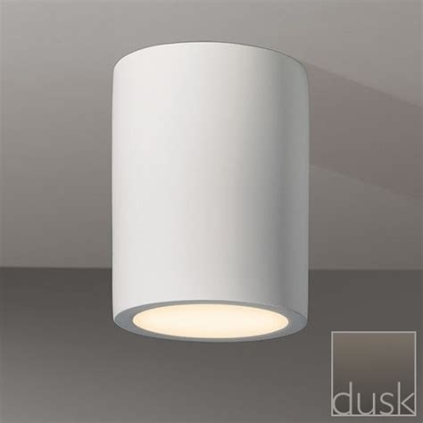 Surface Mount Can Light by Dusk Lights Astro 5646 Osca 140 Surface Mounted Downlight Plaster Finish Class