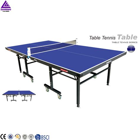 Wood Ping Pong Table by 2016 Lenwave Removable Wood Ping Pong Table Tennis Table