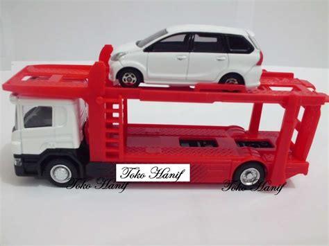 Truck Pengangkut Mobil jual diecast miniatur replika truck pengangkut mobil