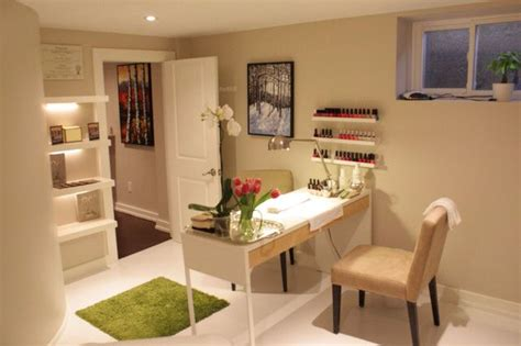 beauty room   nail salon decor home nail salon