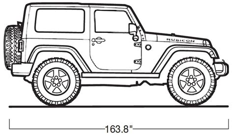 4 door jeep drawing jeep wrangler official drawing recherche planes