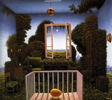 Yerka Paints Like An by Painter O The Day Jacek Yerka Kaitlin Baylie