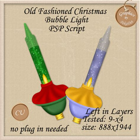 old fashioned bubble christmas lights psp scripts old fashioned christmas bubble light psp script