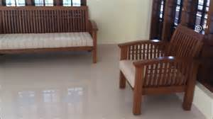 new style wooden sofa set