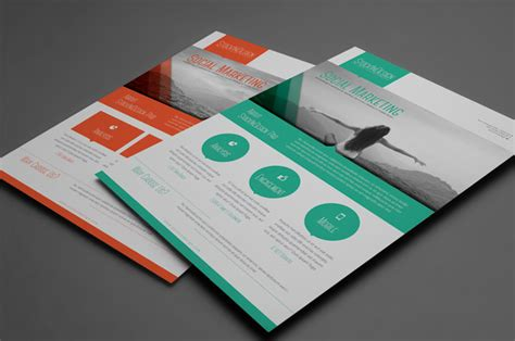 Premium Member Benefit Corporate Flyer Templates Indesignsecrets Com Indesignsecrets Marketing Material Templates
