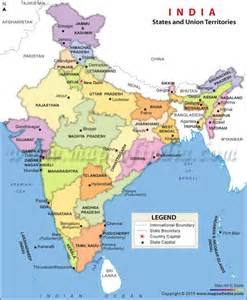 Political Map Of India by India Nation Brand State Branding And Competitive Federalism