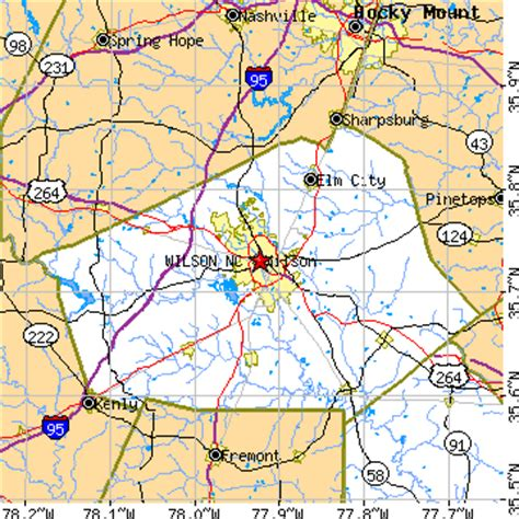 wilson carolina map wilson nc pictures posters news and on your