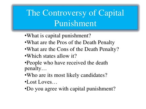 The Penalty Pros And Cons Essay by 5 College Application Topics About Pro Capital Essay