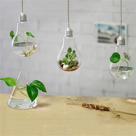 Glass Hanging Vases by Hanging L Glass Vase Hydroponic Vases Fashion Home Decoration Ornaments Plants Flower Home