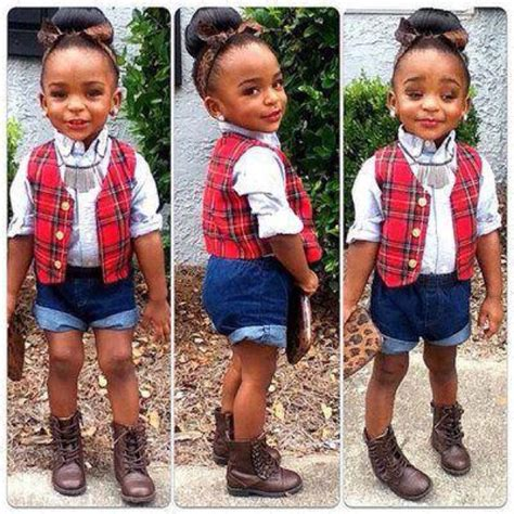 cute girls with swag black kids baby swag fashionloverallover