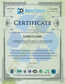 newtech corporate electronics recycling e waste