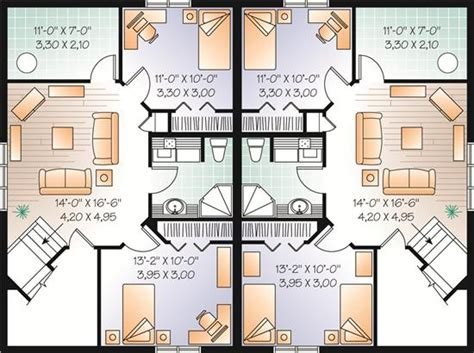 Multi Unit Home Plans | home plan collection of 2015 multi unit house plans
