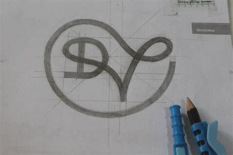 sketchbook logo critique looking for honest feedback on a logo sketch