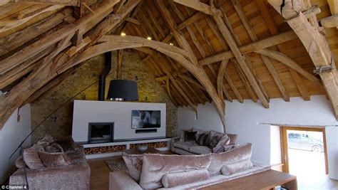 buying a derelict house couple buy derelict cornish barn and transform it into 1