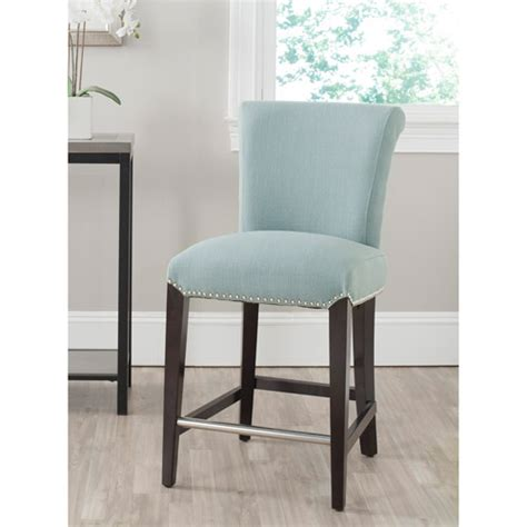sky blue counter stools safavieh seth counter stool colors walmart