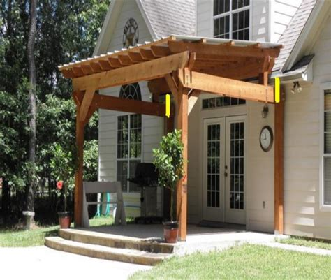 pergola design ideas pergola attached to roof stunning