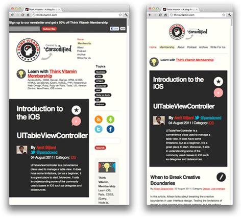 tutorial web mobile 40 best responsive design tutorials responsive design