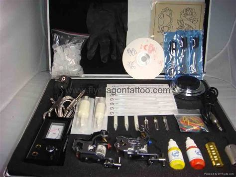 tattoo equipment and tattoo supplies kits