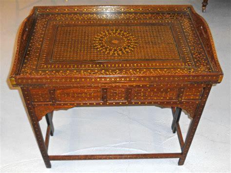 8138 middle eastern moorish style teakwood table c1875