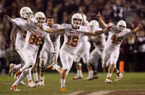 Ut Vs A M Mba by Of Longhorns Football Collective Vision