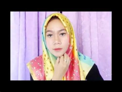 tutorial hijab paris ala bella tutorial hijab simple nan elegance ala laudya cynthia