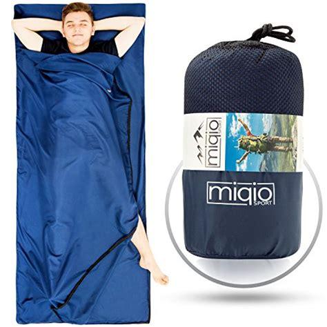 leichte daunendecke sanders als reisedecke sommerschlafsack innenschlafsack inlett inlay miqio 2in1