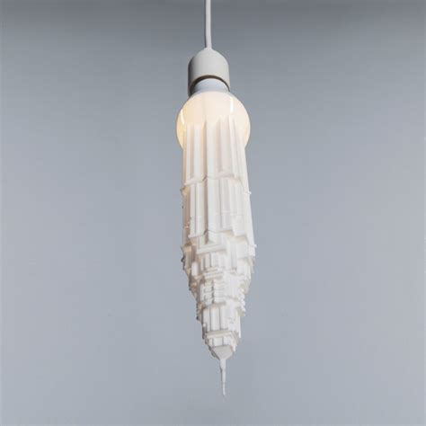 light bulbs that look like water unique bulb shades in shape of skyscrapers stalaclights