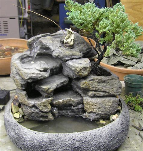 live bonsai indoor tabletop fountain cd72 natural creations
