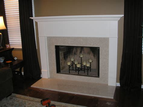fireplace surrounds ideas decorations simple fireplace mantels for your family