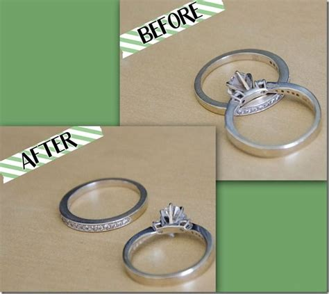 clean your wedding rings at home ideas
