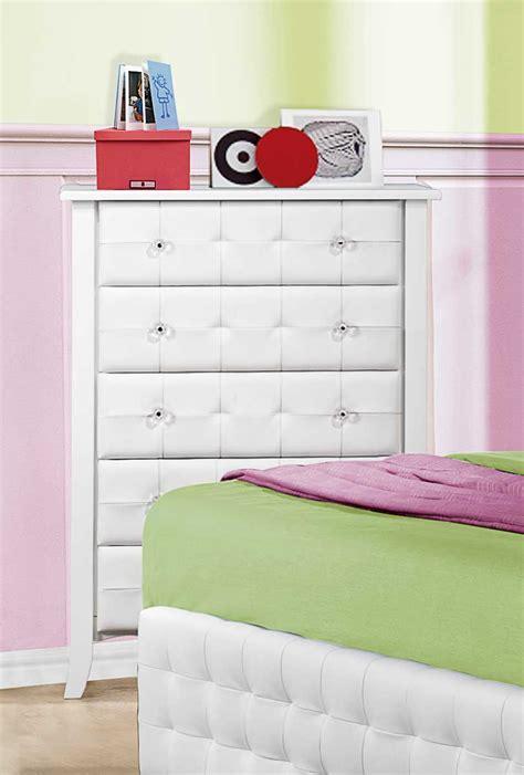 sparkle bedroom homelegance sparkle upholstered bedroom set white b2004