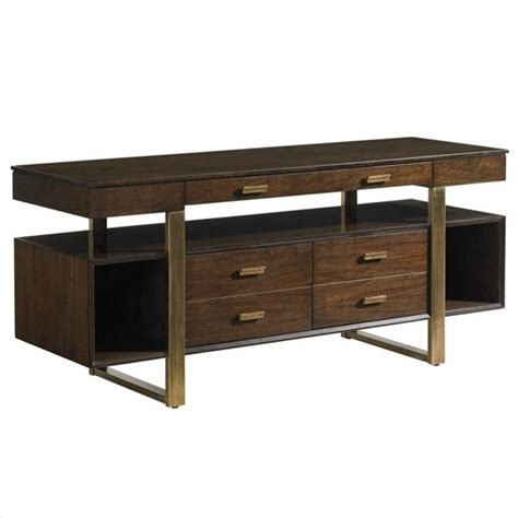 stanley furniture computer desk stanley furniture crestaire vincennes credenza in porter