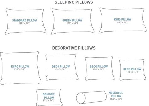 king bed pillow size 1000 images about pillow sizes on pinterest decorative