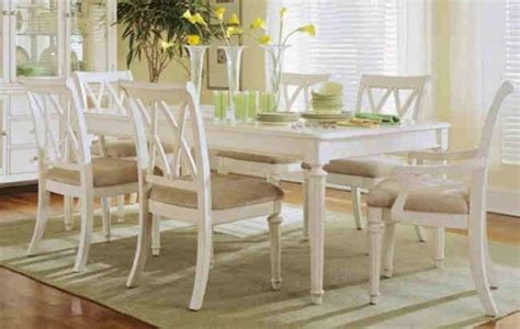 antique white kitchen table and chairs french country