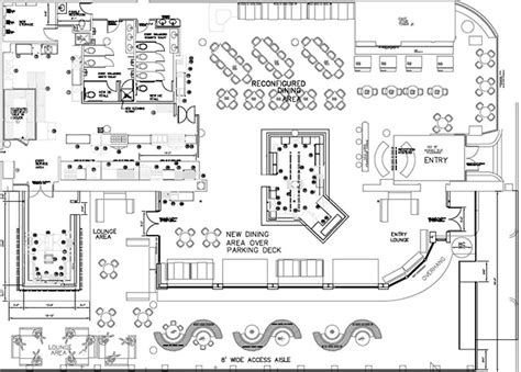 House Plans Blueprints by Packard Place Restaurant Site Plans No Beer Garden But