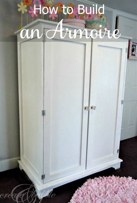 building an armoire create and babble