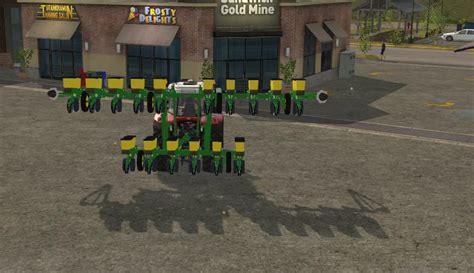 16 Row Planter by Deere 1720 16row V1 Farming Simulator 2017 Mods