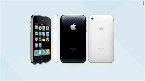 iphone 3g 2008 the iphone through the years cnnmoney