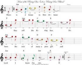 house of the rising sun music sheet 26 besten noten bilder auf pinterest musiknoten musik und die gitarre