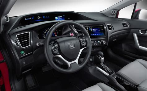 2015 Honda Civic Si Interior by 2015 Honda Civic Coupe Interior Photo Gallery Official