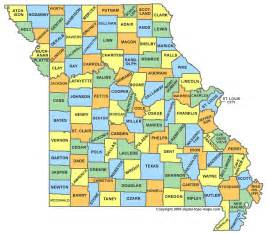county map with city names missouri county map mo counties map of missouri