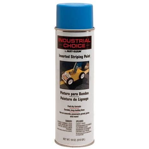 home depot paint msds rust oleum industrial choice 18 oz blue inverted