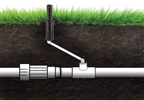 sprinkler swing joint adding sprays or rotors to a zone for lawn sprinklers