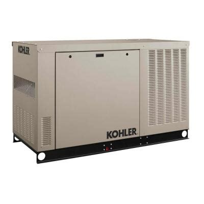 kohler 24 000 watt liquid cooled standby generator 24rcl