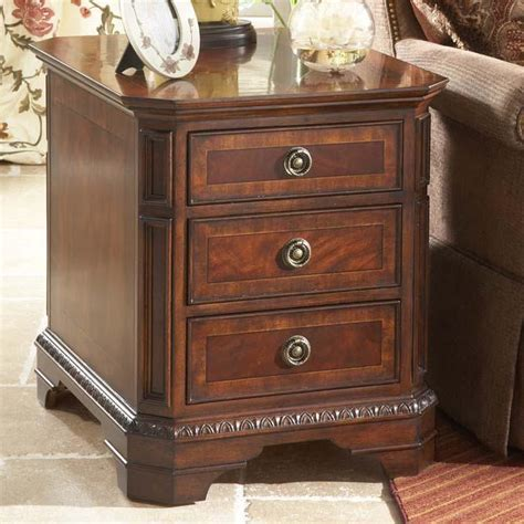 recliner side table with drawer side table with drawer furniture home ideas collection