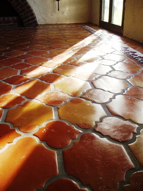 spanish floor terra cotta tile or saltillo tile is saltillo tile and