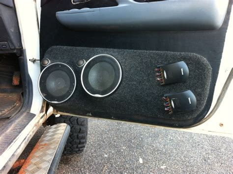 Door To Door Pods by Custom Door Speaker Pods Ih8mud Forum