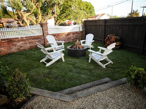 gas pit with adirondack chairs search viewer hgtv