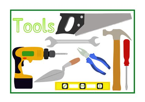 tools poster  early years primary teaching